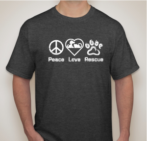 Peace Love Rescue Mens