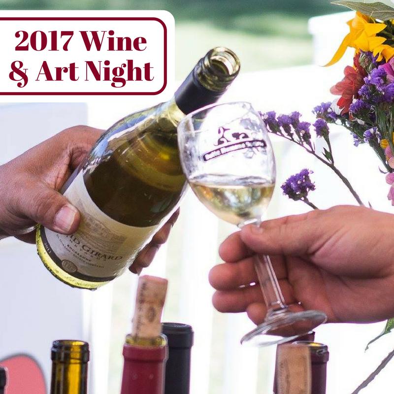 wine and art night