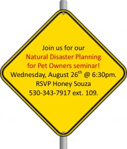 Disaster Seminar
