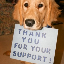 Doggy Thank you