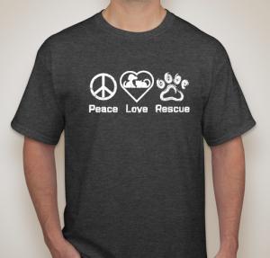 Peace Love Rescue Mens