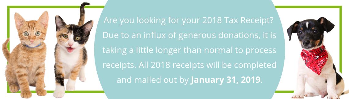 2018 Tax Receipts
