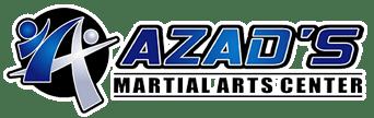 Blue Azad's Martial Arts Center logo